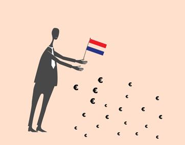 spaargeld in Nederland gemiddeld per inwoner