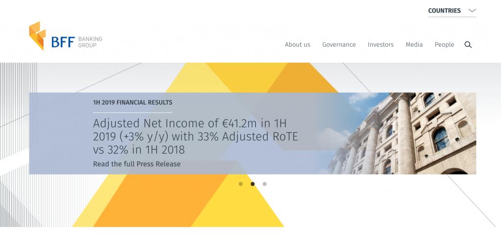 BFF Banking Group review en ervaringen