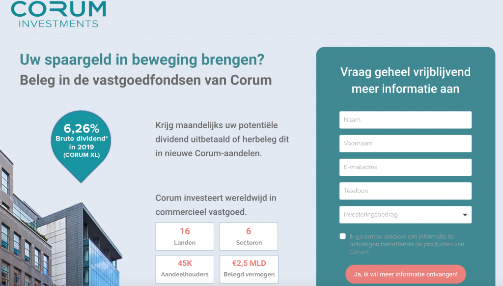CORUM review en ervaringen_spaarrentesvergelijken
