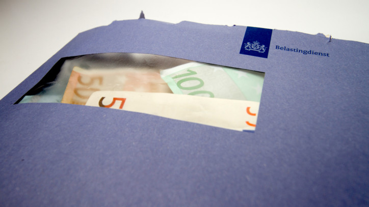 belasting teruggaaf uitbetaling