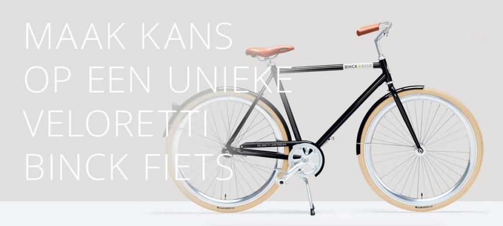 Binckbank spaaractie_veloretti-fiets_Spaarrentesvergelijken