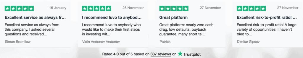 review trustpilot IUVO
